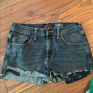 Rock & Republic cut off denim shorts 32
